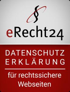erecht24 siegel datenschutz rot gross Schuhe Schwarzenberg